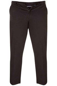 duke clothing chino-broek »herren kingsize bruno d555 stretch chino hose« zwart