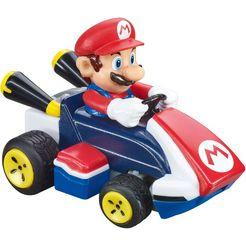 carrera »mario kart - mario« radiografisch bestuurbare auto rood