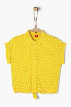 s.oliver blouse met korte mouwen_voor meisjes geel