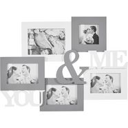 home affaire collagelijst »you  me« wit
