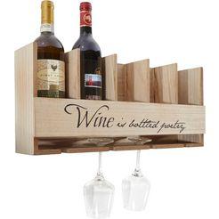 home affaire wijnrek beige