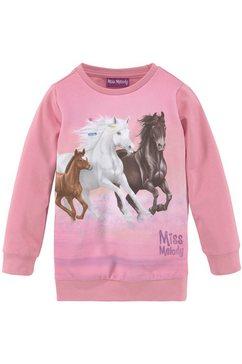 miss melody lang sweatshirt roze