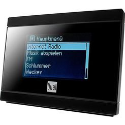 dual internetradio »ir 2a« internet-radio (internetradio,fm-tuner,ukw met rds) zwart