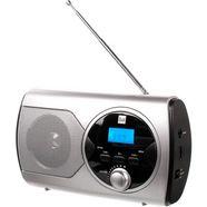 dual »p 10« ukw-radio (ukw met rds, 1 watt) zilver