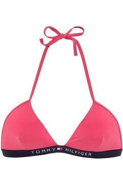 tommy hilfiger triangel-bikinitop roze