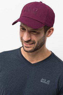 jack wolfskin baseballcap »baseball cap« rood