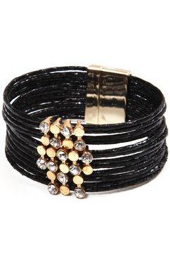collezione alessandro armband »a2822-f01« zwart