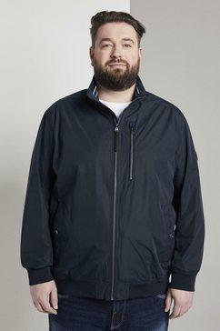 tom tailor men plus blouson »blouson-jacke« blauw