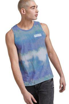 tom tailor denim muscle-shirt blauw