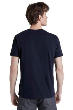 tom tailor denim shirt met ronde hals blauw