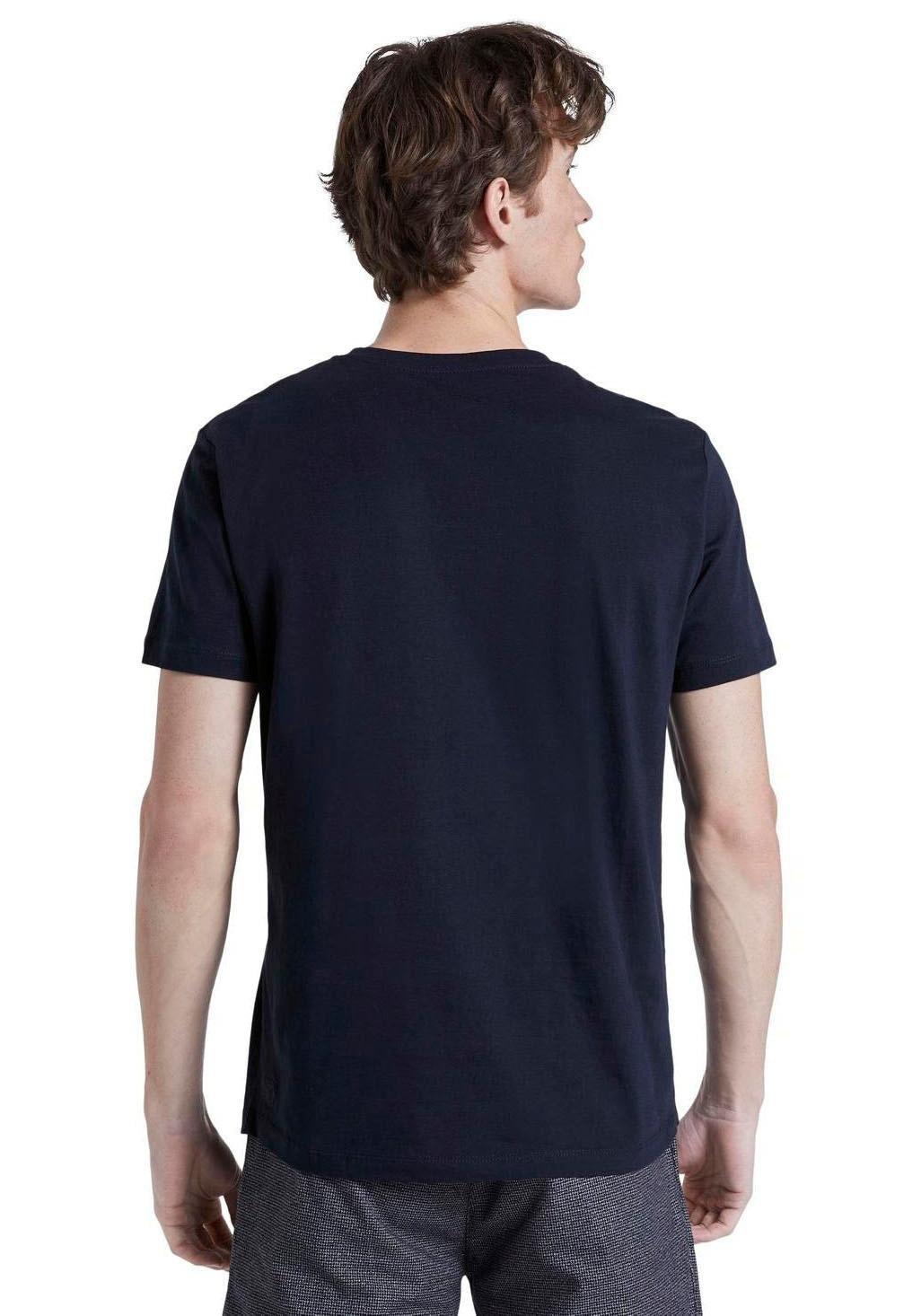 TOM TAILOR Denim shirt met ronde hals - verschillende betaalmethodes
