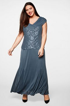 sheego style sheego style jurk grijs