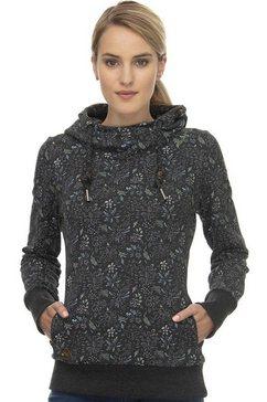 ragwear sweatshirt »gripy a« zwart