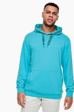 s.oliver hoodie-sweatshirt blauw