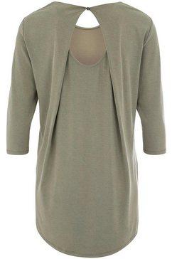 deik  dunes blouse zonder sluiting »lene« groen