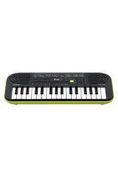 casio keyboard mini-keyboard sa46 met omschakelknop voor piano--orgelgeluid zwart