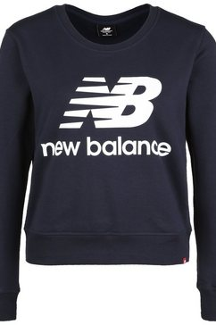 new balance sweatshirt »essentials crew« zwart