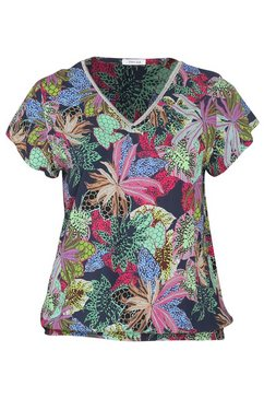 blouse met kasjmierprint multicolor