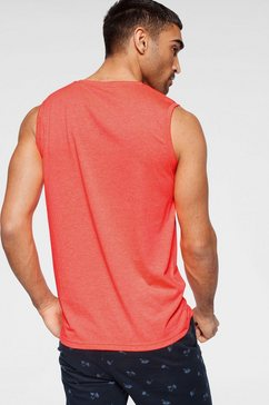 tom tailor muscle-shirt oranje