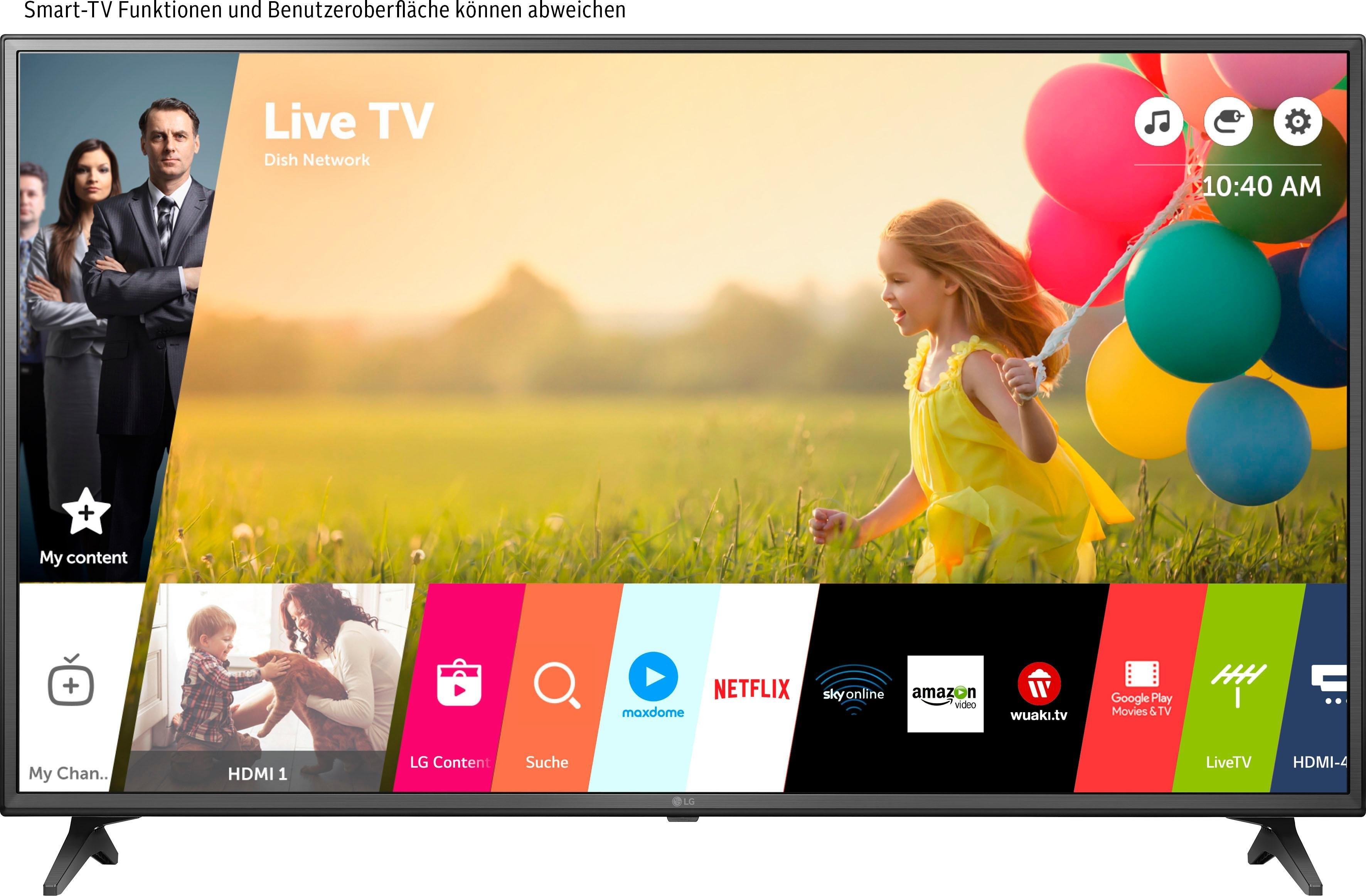 LG 55UM7050PLC LED-televisie (139 cm / (55 Inch), 4K Ultra HD, Smart-TV bestellen: 30 dagen bedenktijd