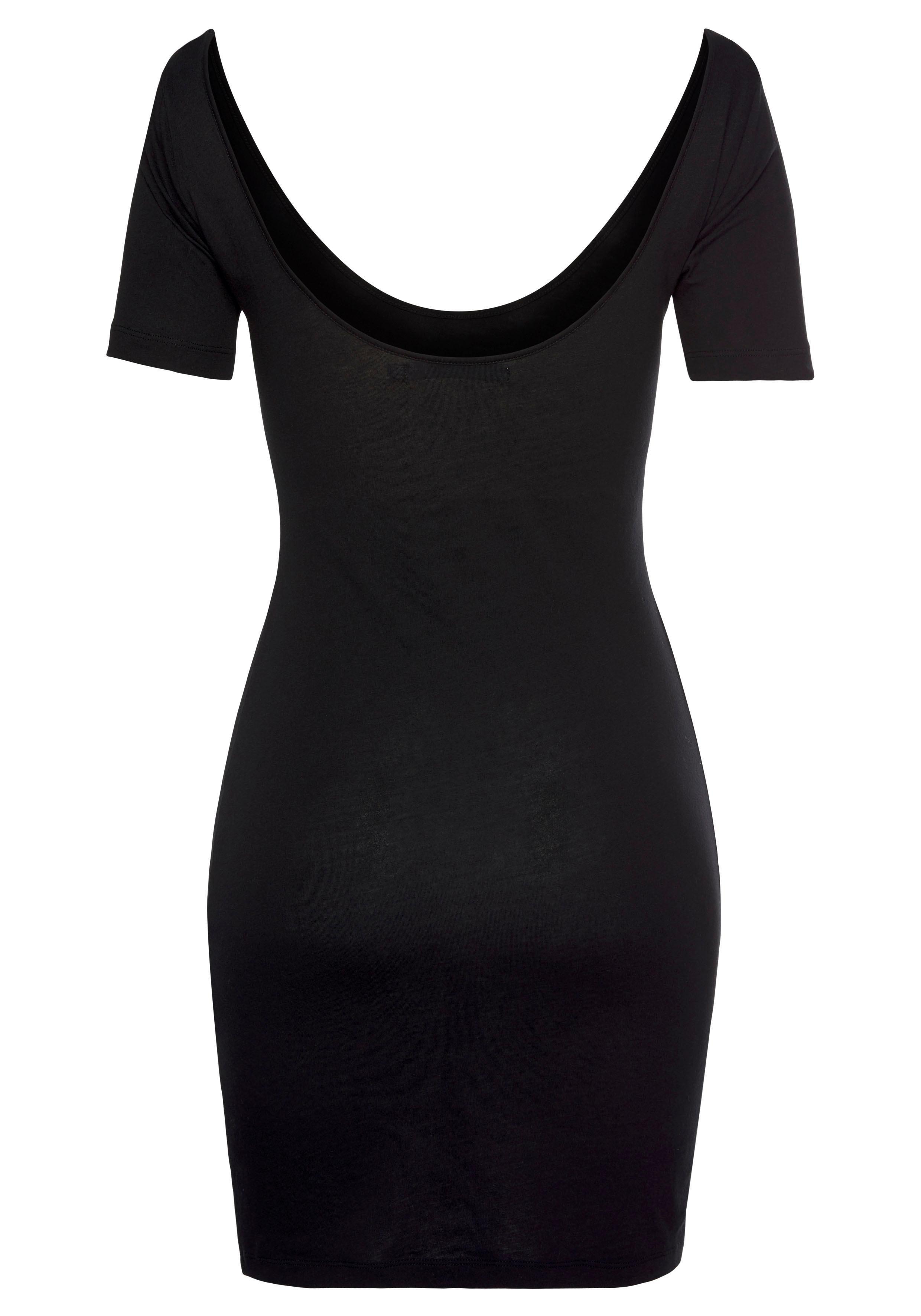 Calvin Klein jerseyjurk »MONOGRAM STRIPE BALLET DRESS« - verschillende betaalmethodes
