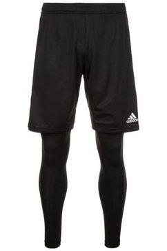 adidas performance 2-in-1-broek »condivo 18 2in1« zwart