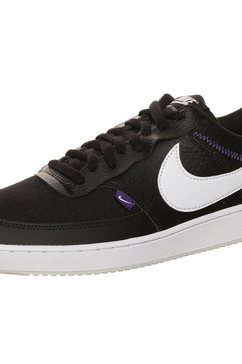 nike sneakers »court vision low premium« zwart