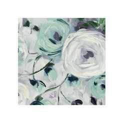 echt schilderij wit