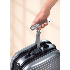 soehnle »gepaeckwaage travel« kofferweegschaal zilver