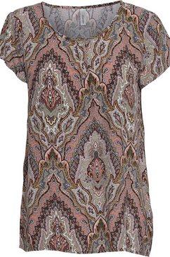 soyaconcept gedessineerde blouse »sc-illa2« oranje