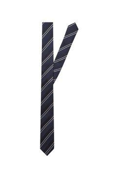 seidensticker stropdas »slim« blauw