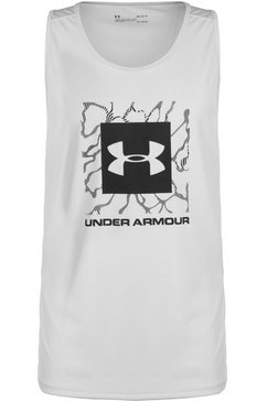 under armour tennisshirt »heatgear tech 2.0 graphic« grijs