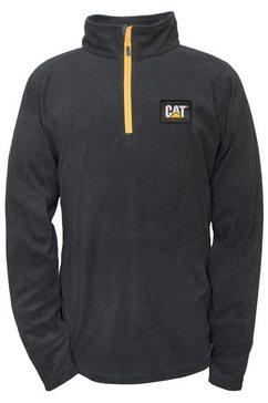 caterpillar fleecetrui »herren fleece-sweatshirt concord« zwart