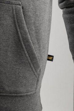 caterpillar capuchontrui »herren herren - hoodie - kapuzensweater« grijs