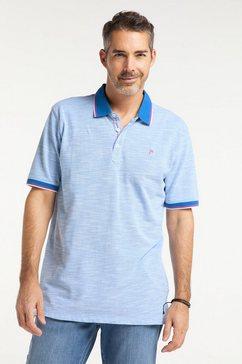 pioneer authentic jeans polo oversized blauw