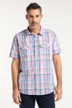 pioneer authentic jeans herenoverhemd karo regular fit groen