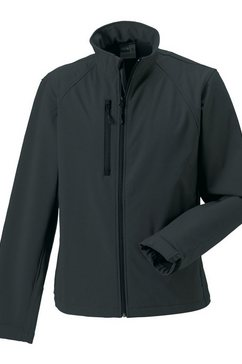 russell outdoorjack »jerzees colours herren jacke, wasser- und windabweisend« zilver