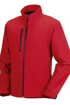 russell outdoorjack »jerzees colours herren jacke, wasser- und windabweisend« rood