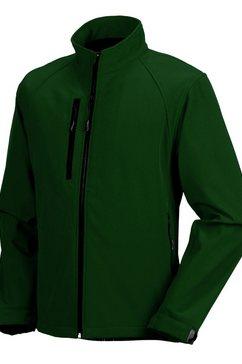 russell outdoorjack »jerzees colours herren jacke, wasser- und windabweisend« groen