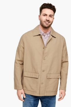 s.oliver twill jacket bruin