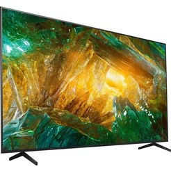 sony kd85xh8096 bravia lcd-led televisie (215 cm - (85 inch), 4k ultra hd, android tv zwart