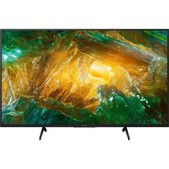 sony kd49xh8096 bravia lcd-led televisie (123 cm - (49 inch), 4k ultra hd, android tv zwart