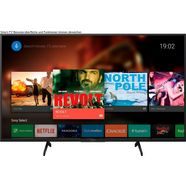sony kd43xh8096 lcd-led televisie (108 cm - (43 inch), 4k ultra hd, android tv zwart