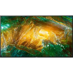 sony kd75xh8096 bravia lcd-led televisie (189 cm - (75 inch), 4k ultra hd, android tv zwart