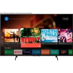 sony kd55x7055 bravia led-televisie (139 cm - (55 inch), 4k ultra hd, smart-tv zwart