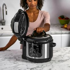 ninja »op500eu« multi-cooker zwart