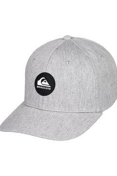 quiksilver snapback cap »super unleaded« grijs