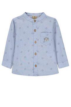bellybutton slim: minimalistisch stretchoverhemd »aeffchen«