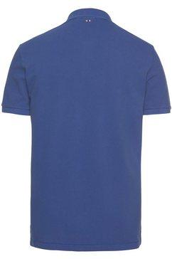 napapijri poloshirt blauw