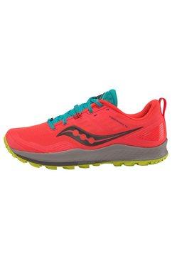 saucony runningschoenen »peregrine 10« rood